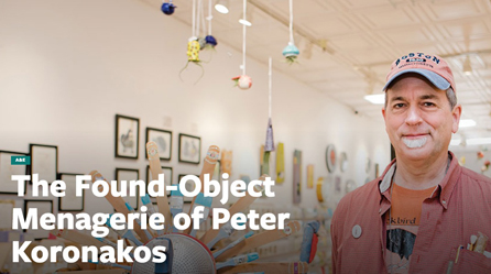 The Found Object Meagerie of Peter Koronakos -- Good Times Santa Cruz